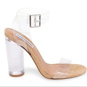 Clearer Clear heels